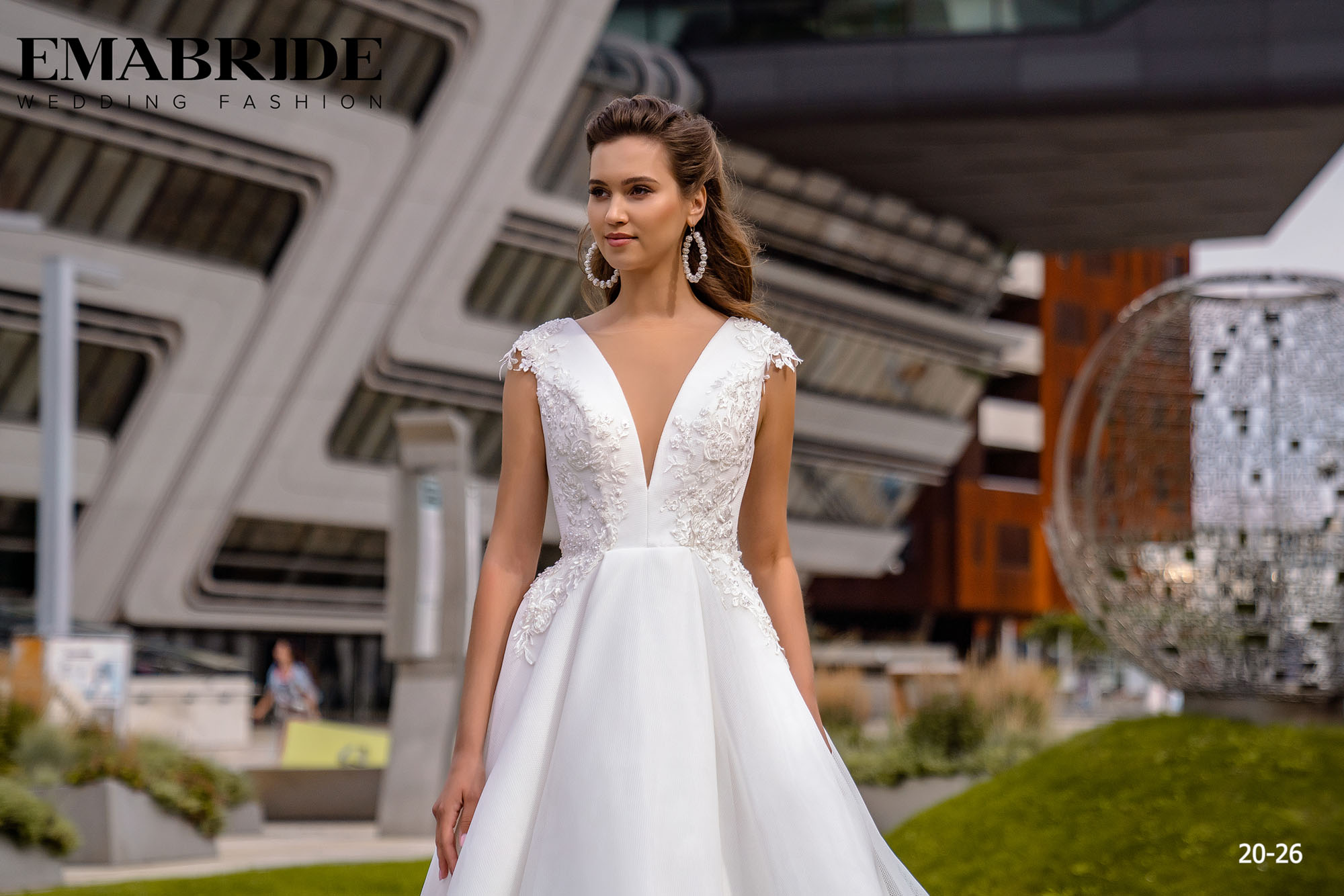 Model 20-26 | Buy wedding dresses wholesale by the ukrainian manufacturer Emabride-1